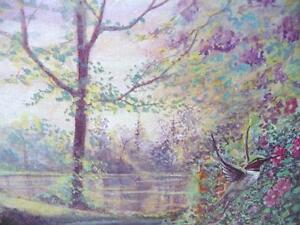 "Listed Artist Peter Robson ""Summer Fragrance"" Limited Edition Stratford Kitchener Area image 7"