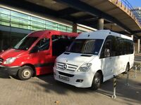 17 seater minibus hire with driver for any occasion call Gill 07812701482