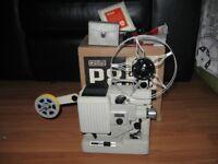 Eumig P8 Automatic Standard 8mm Cine Film Projector Vintage Made In Austria Original Box Accessories