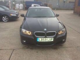 BMW 318d 2.0 SE 4dr. 59 reg. Black. FSH. lovely condition