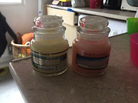 Small Yankee candles