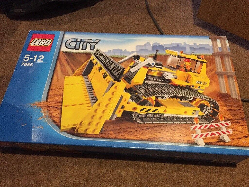 Lego city 7685 bulldozer lego