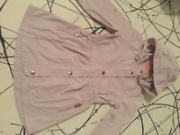 Girls gorgeous Ted Baker rain mac/ jacket age 6