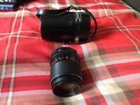 Vintage manual camera lens