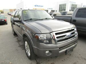 2011 Ford Expedition Max Limited | LEATHER  | 3 ROW SEATING |