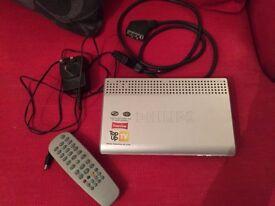 PHILIPS Digital Terrestrial Receiver (Freeview)