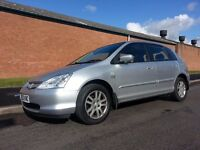2003 HONDA CIVIC 1.6 AUTOMATIC GENUINE 44300 MILES FULL HISTORY cambelt changed 1 FORMER KEEPER