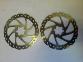 hayes rotors mountain bike