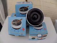 job lot of 3 battery operated smoke free ashtrays