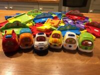 Vtech cars and track