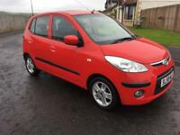 2008 HYNDAI I10,LONG MOT,£30 ROAD TAX,£1395