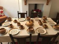 Denby Canterbury - Six pieces dinner set with casserole dish