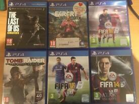 Fifa, Far Cry, Last of Us, Tomb Raider - sold separately or together