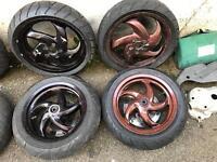 Gilera runner 125 sp wheels fresh tyres