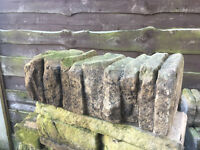 FREE Garden dry stone wall effect bricks/blocks