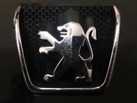 Genuine Peugeot 307 Front Bonnet Lion Badge / LOGO / EMBLEM