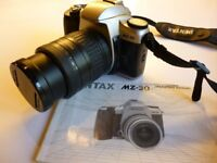 PENTAX MZ-30 35mm SLR FILM CAMERA AS NEW ONLY USED ONCE