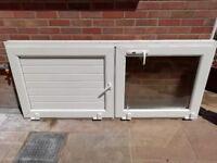PVC stable door and windows