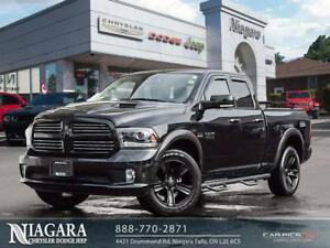 2017 Ram 1500 SPORT | QUAD CAB | 4X4 | LUXURY & SPORT GROUP