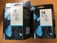HP Ink Cartridge # 78 Tri Colour