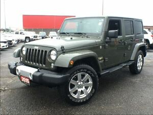 2015 Jeep WRANGLER UNLIMITED SAHARA**NAV**6.5 INCH TOUCHSCREEN**