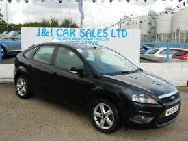 FORD FOCUS 1.6 ZETEC 5d 100 BHP A GREAT EXAMPLE INSIDE AND OU (black) 2009