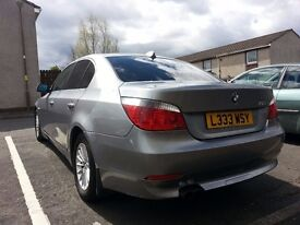 Space Grey BMW 520i Auto   TOW BAR   Hands Free Kit   Excellent Runner   FSH   Well Maintained