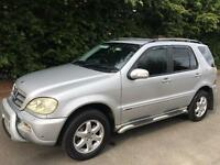 Mercedes ML270 cdi INSPIRATION 7 SEATER