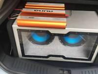 4000 watt subwoofer with amp