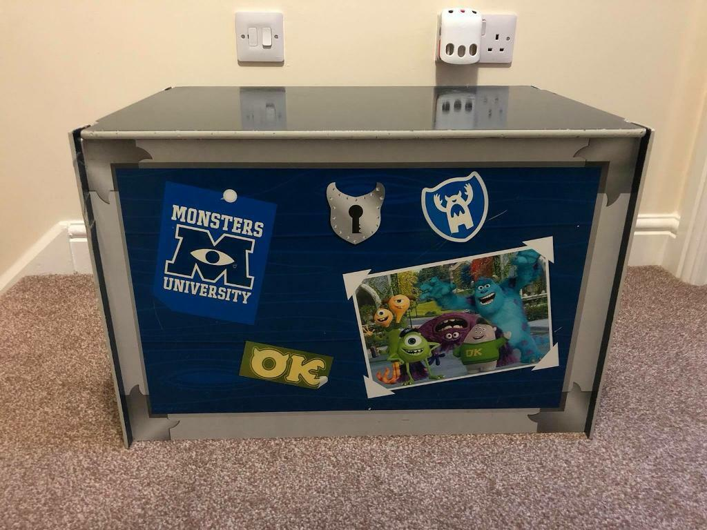 Monsters Inc/Monsters University Toy Box/Storage Box