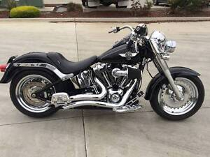 HARLEY DAVIDSON FLSTF FATBOY 07/11MDL 28079KMS PROJECT READ OFFRS Campbellfield Hume Area Preview