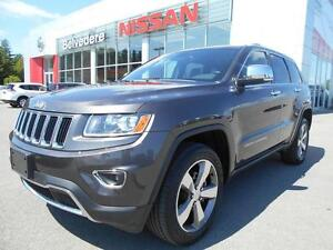 2015 Jeep Grand Cherokee LIMITED 3.6 V6 CUIR TOIT OUVRANT MAGS N