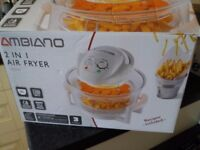 Air Fryer - Ambiano 2 in 1 still in box.