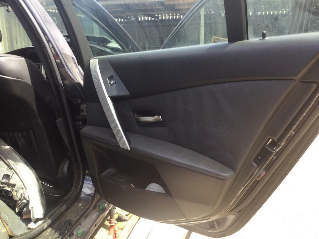 Bmw E60 M Sport Black Leather Interior In Antrim Road Belfast Gumtree