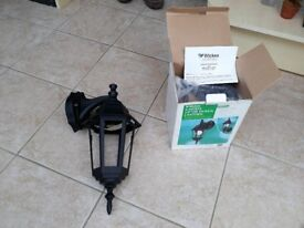 2 brand new outside wall lights from wicks still in the box £10 the pair ono
