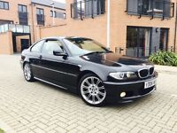 BMW 320 CD //MSPORT DIESEL 2006 LOW MILEAGE FULL SERVICE HISTORY AND FULL LEATHER SPORTS SEATS
