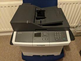 Lexmark CX317dn Colour Laser Printer (Network, Duplex Printer)