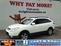 2010 Hyundai Veracruz AWD| LEATHER| SUNROOF| 150,760KMS| $12,997