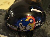 Sonic the Hedgehog bike cycle helmet