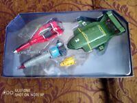 Thunderbirds 4 piece vehicle set