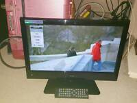 """ALBA 19""""TV DVD FREEVIEW HD TV WITH REMOTE ."""