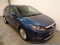 FORD FOCUS DIESEL , 2009 , LOW MILES + FULL HISTORY, YEARS MOT, SAT NAV, FINANCE AVAILABLE, WARRANTY