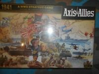 NEW SEALED AXIS AND ALLIES 1941 BOARD GAME