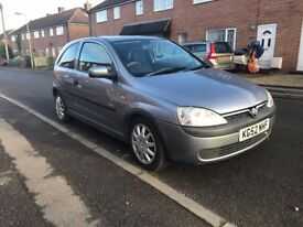 2003 Vauxhall Corsa, 1.2 Petrol, 88k only, MOT included.