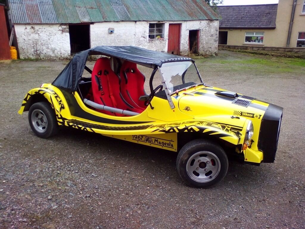 Mg Magenta Classic Kit Car Fully Road Legal Motorbike