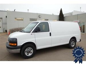 2014 GMC Savana Cargo Van, 4.8L V8 Gas, 60,997 KMs, Seats 2
