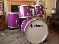 Drum kit £95 ovno