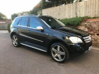 EXCELLENT MERCEDES ML 320 4-MATIC, BLUE EFFICIENCY, VERY GOOD CONDITION, NEW MOT AND FULLY SERVICED