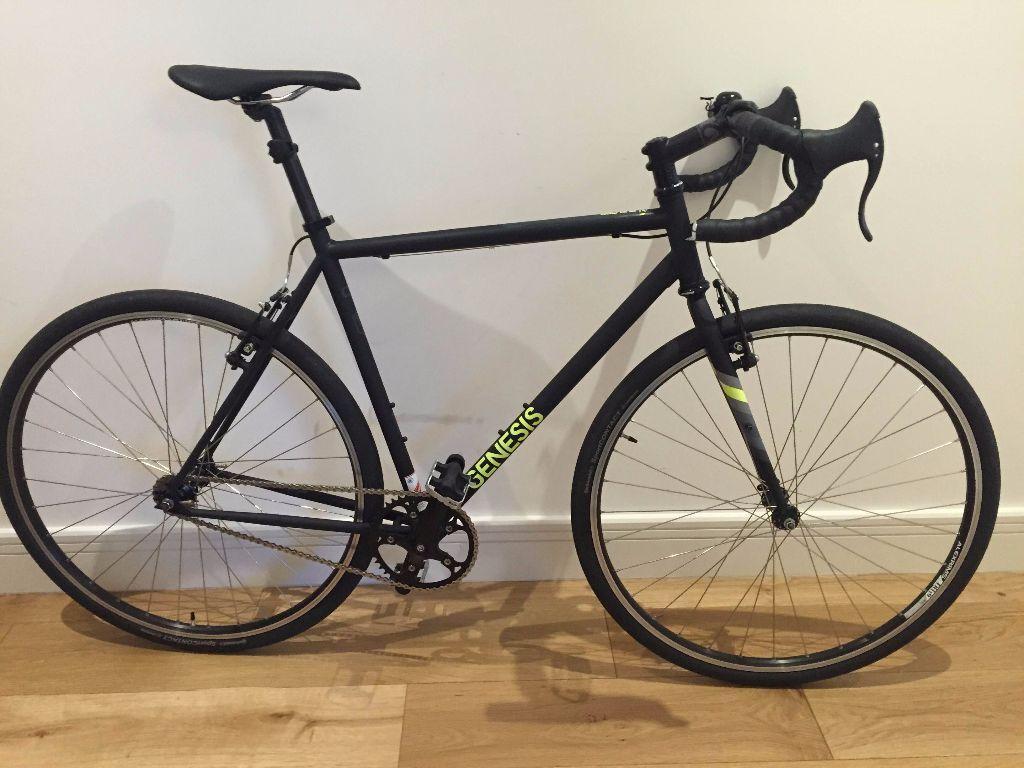 Genesis Day One Single Speed Road Bicycle Bike 2015 56cm In