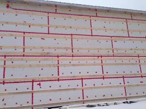 Rigid Foam Insulation Wallboard (ISO-Board) 4ftx8ft Sheets